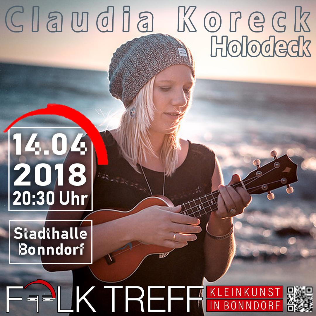 Claudia Koreck (14.04.2018)