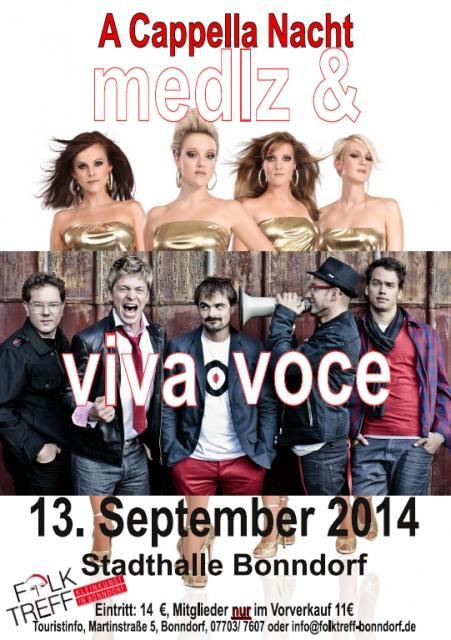 A-Cappella-Nacht (13.09.2014)
