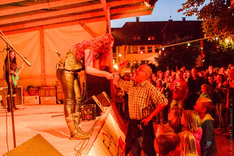Schlossfest, 2015, OPEN Air, Black Rosie,